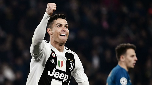 Ronaldo Send Juve Into Champions League Quarters