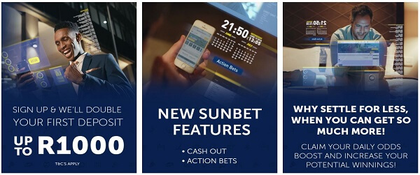 Sunbet Sign Up bonus