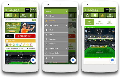 EaziBet Mobile App Download